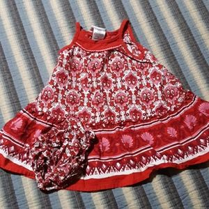 Cute dress with diaper cover